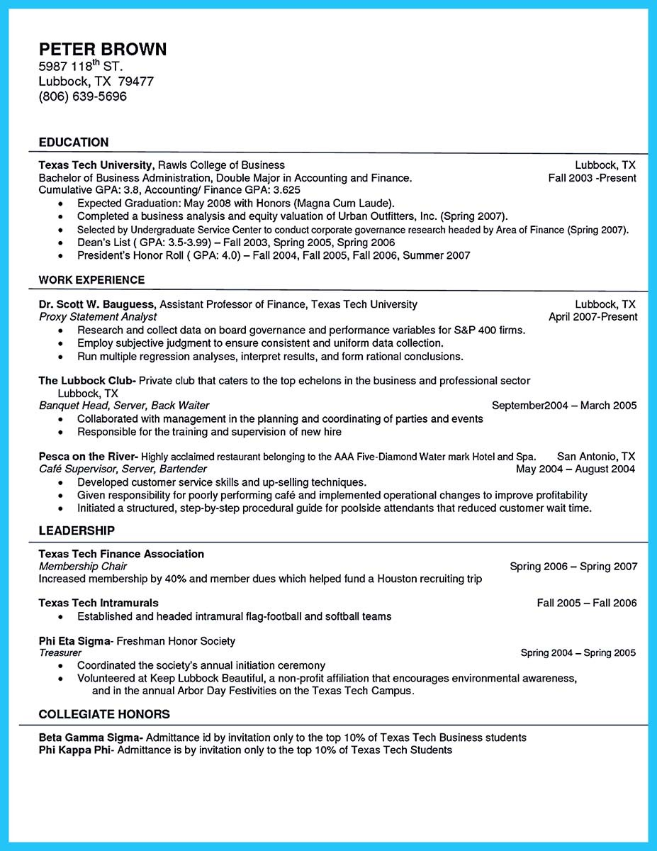 cafe barista resume sample