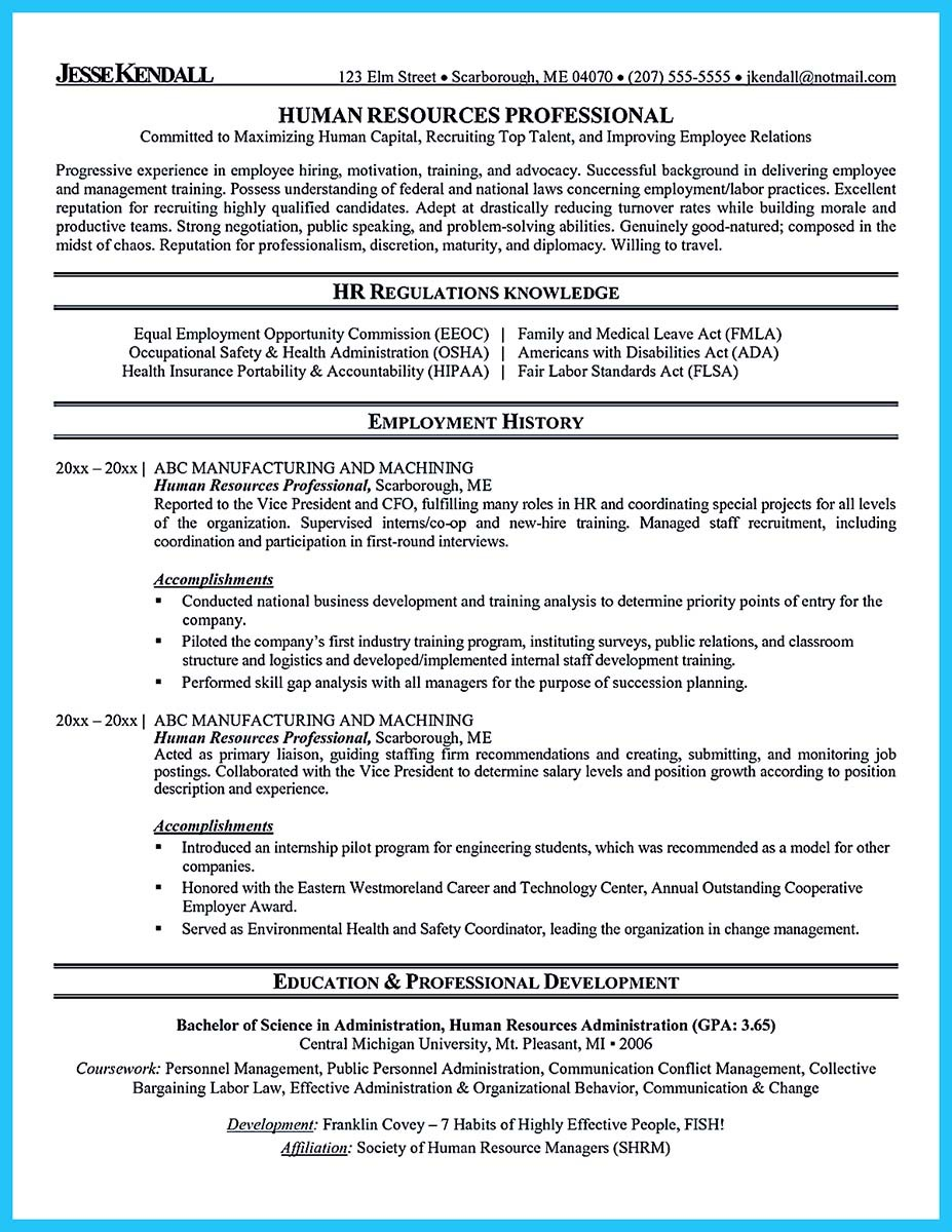 sample resume with no work experience