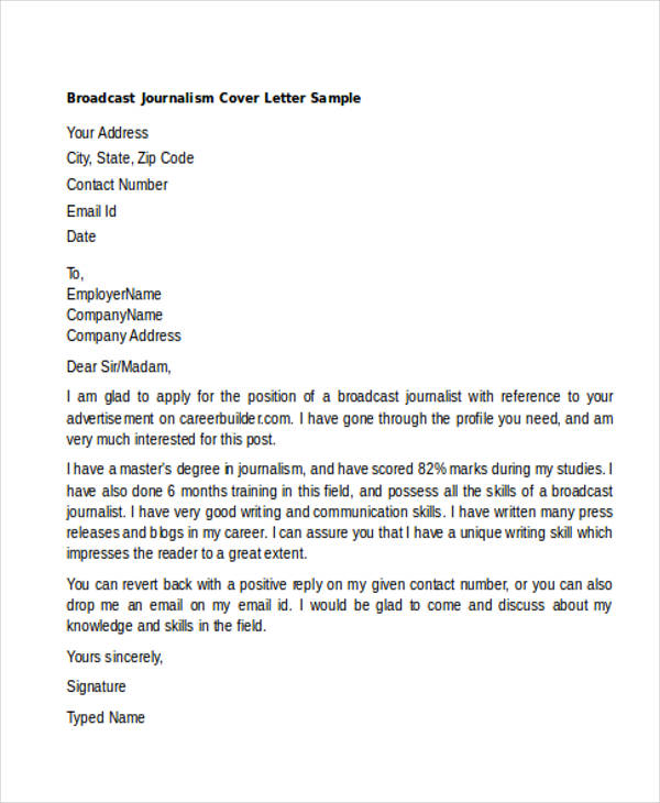 46+ Generic Cover Letters for All Types of Jobs and What to Include