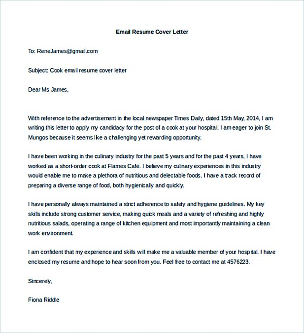 Job Cover Letter to Secure a Job - how do i make a cover letter for my resume