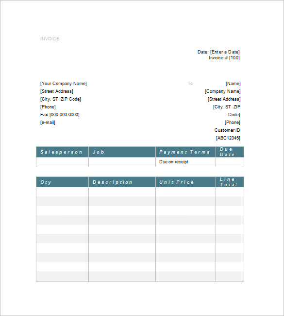 Increasing Value by Attorney Invoice Template Making with Tips - legal invoice template