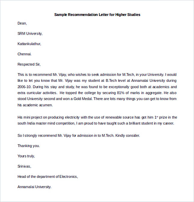 Best Recommendation Letter Template to Use - sorority recommendation letter