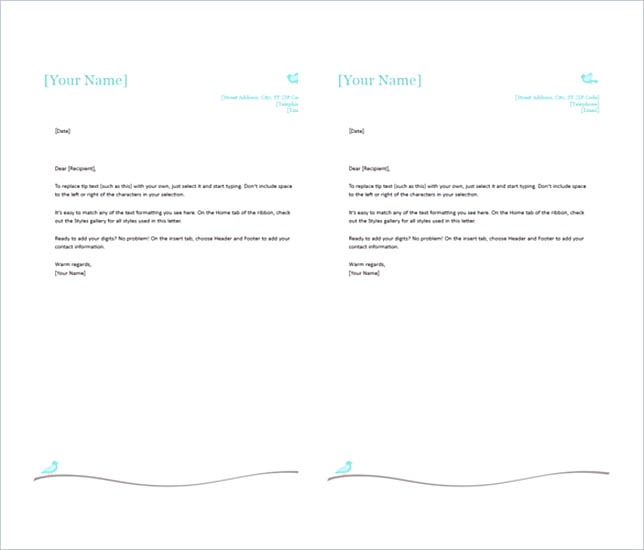 personal stationery template word radiovkm