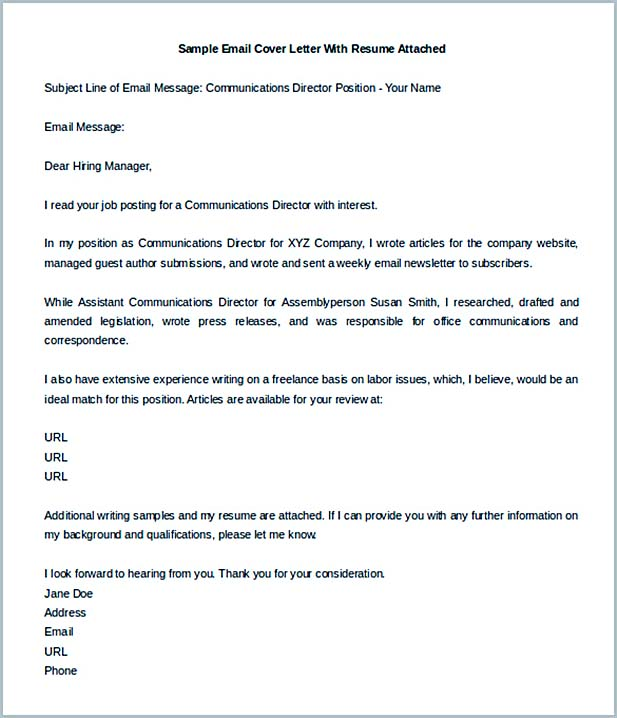 Perfect Letter Sent Via Email Template Cover Cover Copycat Violence  Cover Letter Email Sample
