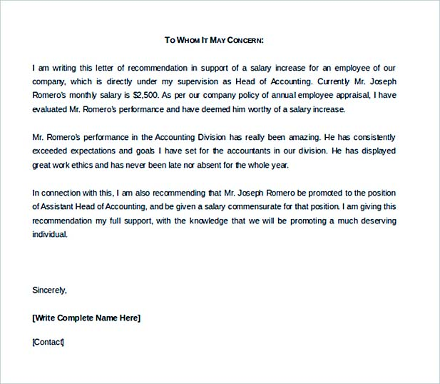 Understanding Professional Letter Format - professional letter template word