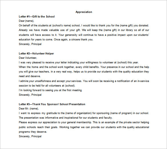 Personal Thank You Letter For Scholarship  Checklist For Outdoor