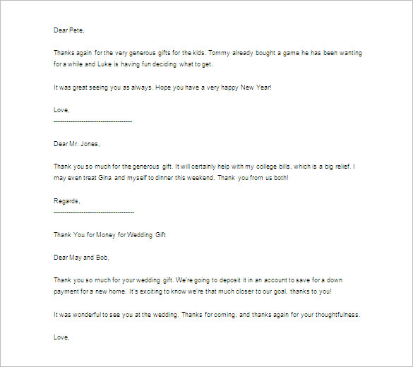 Thank You Letter for Interview Basic Guides - graduation thank you letter