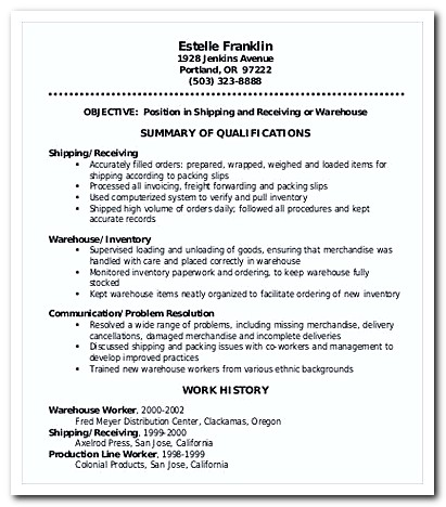 writing warehouse worker cover letter for your job application resume warehouse resumes warehouse inventory cover