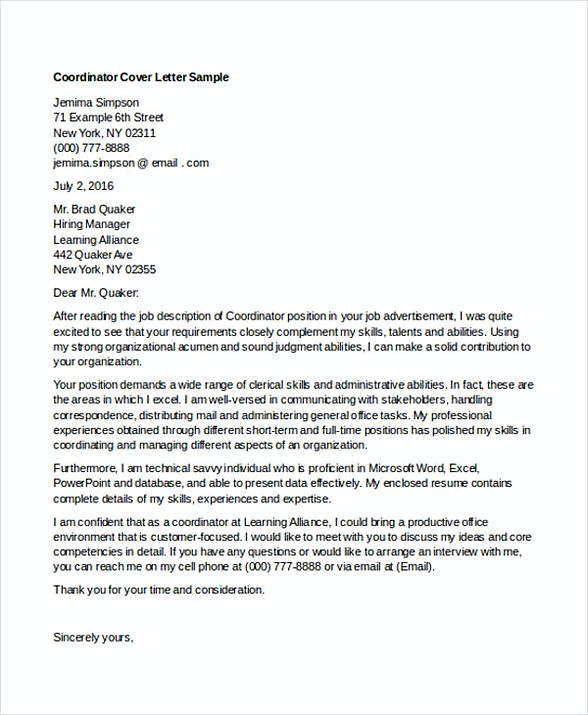 Entry Level Engineering Cover Letter Example Common Mistakes  Tips