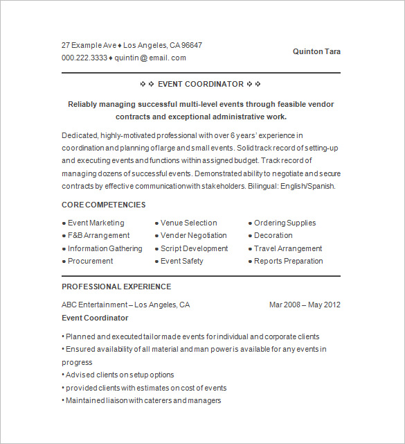 Event Planning Cover Letter Sample. Cover Letter Awesome Event
