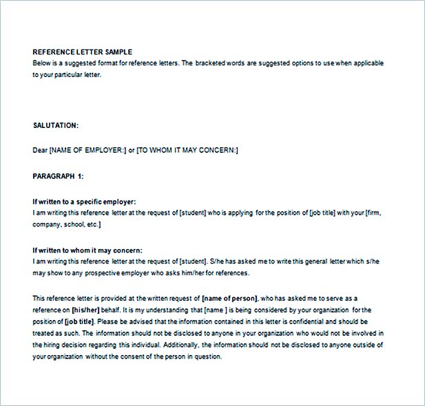 Write the Letter of Recommendation as a Piece of Cake - employer recommendation letter sample
