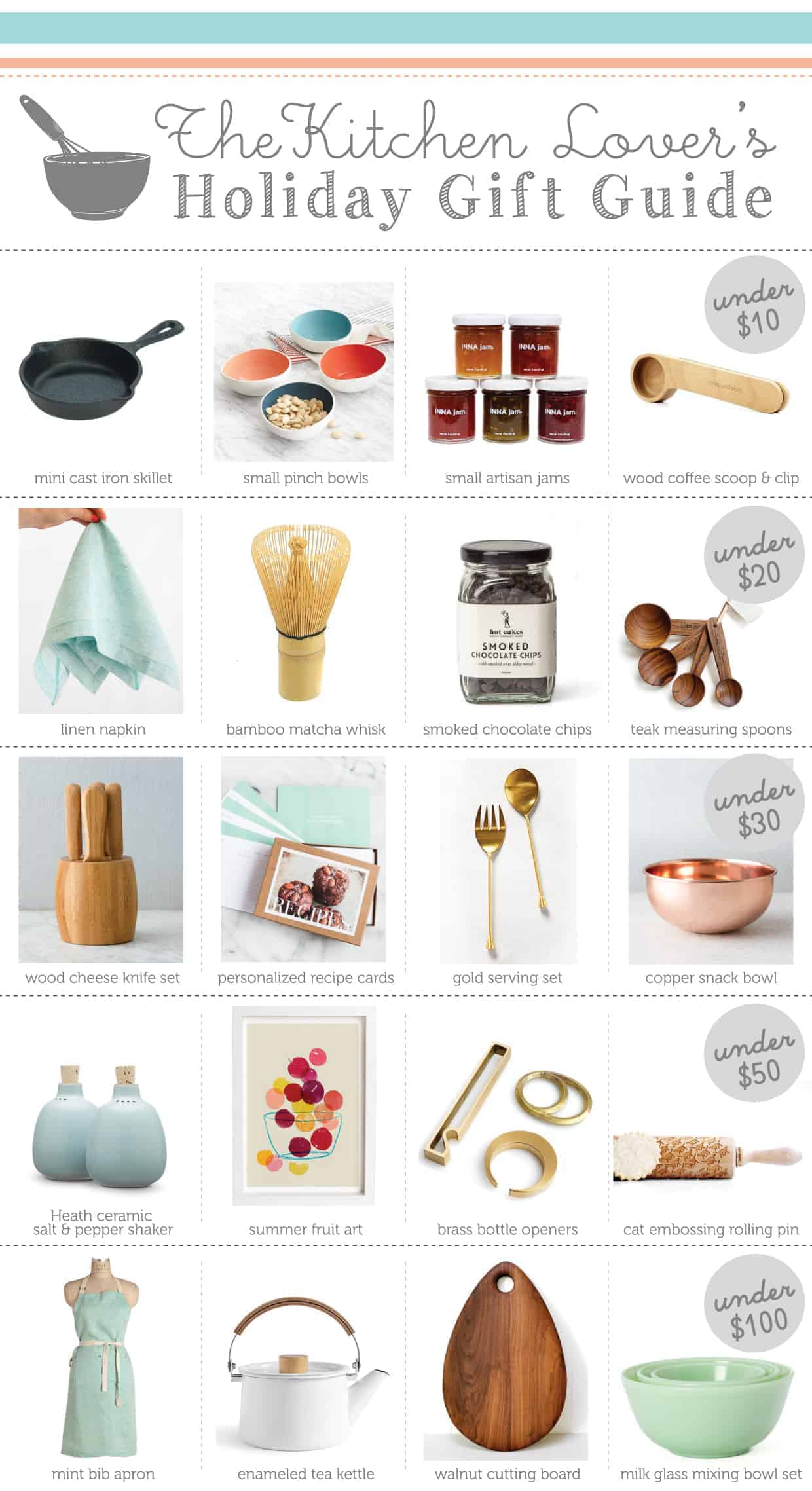 Japan Küchenutensilien The Kitchen Lover 39s Holiday Gift Guide Under 100