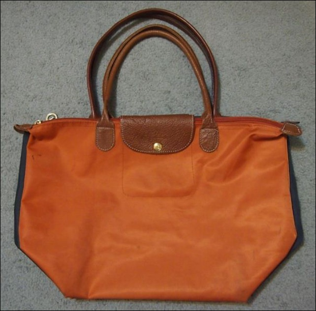 Discount Longchamp Le Pliage Tote Bags 2605 089 217 Orange