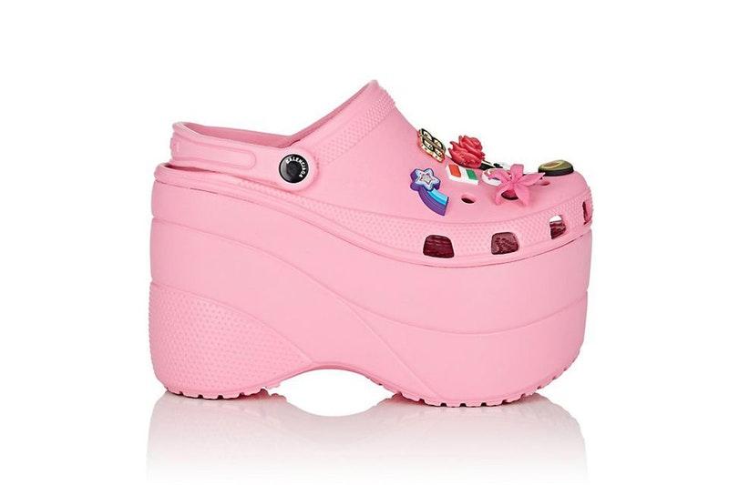 Balenciaga Crocs Begin To Hit Retail And Evaporate Upon