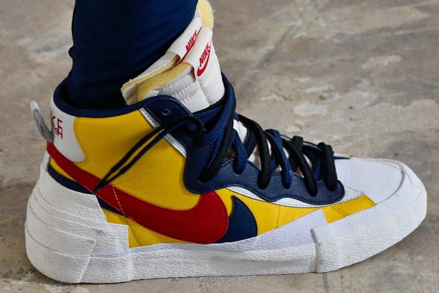 Serre 2 X 5 Sacai Makes Sneaker Magic With Nike Collaboration For