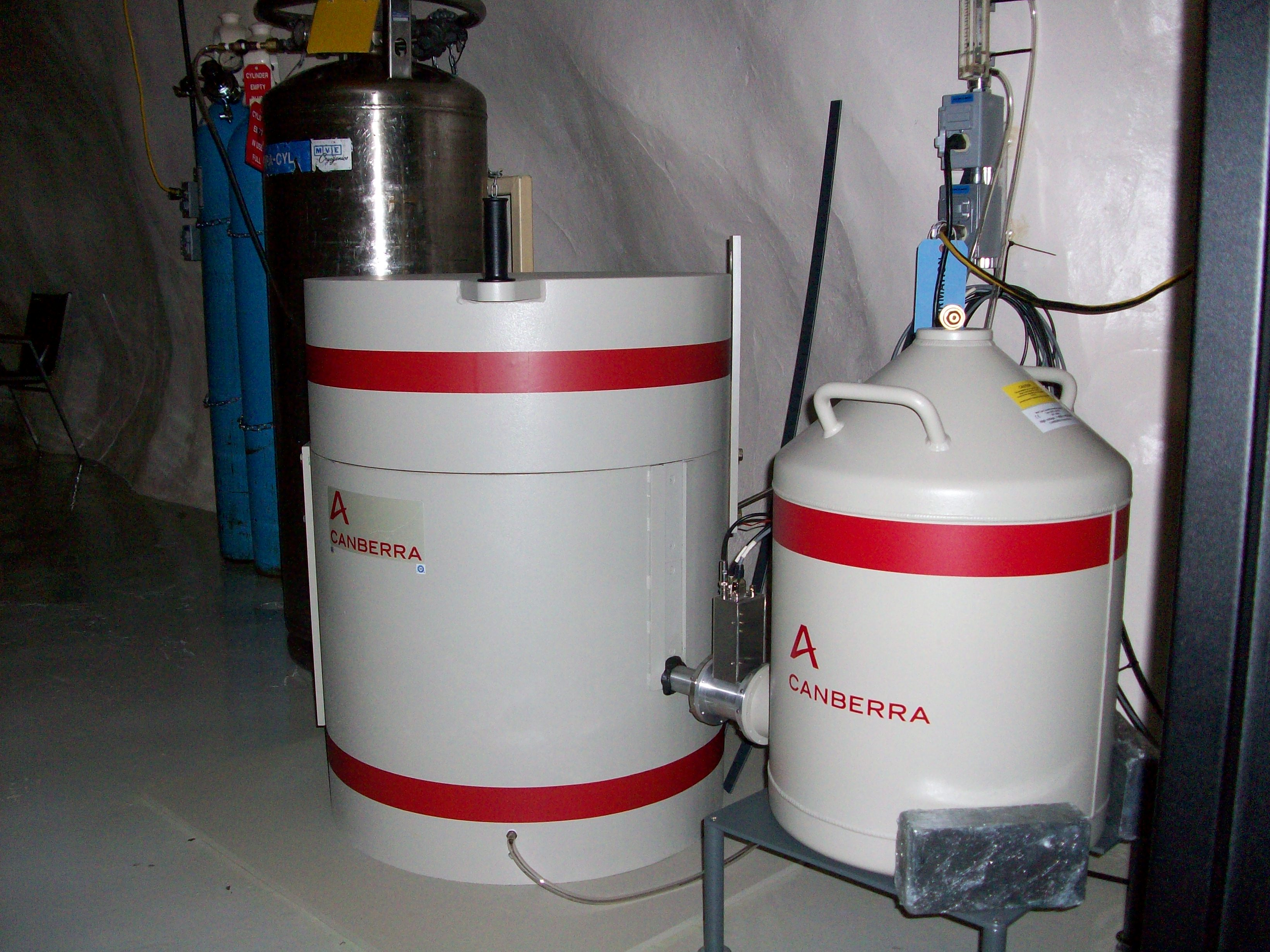 Gamma Close In Boiler Snolab Low Background Counting Facility