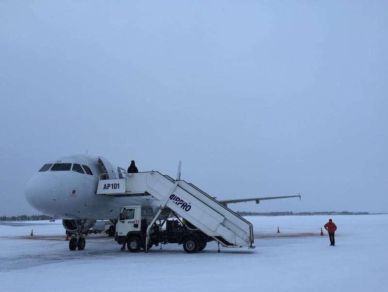 Flughafen Kittilä