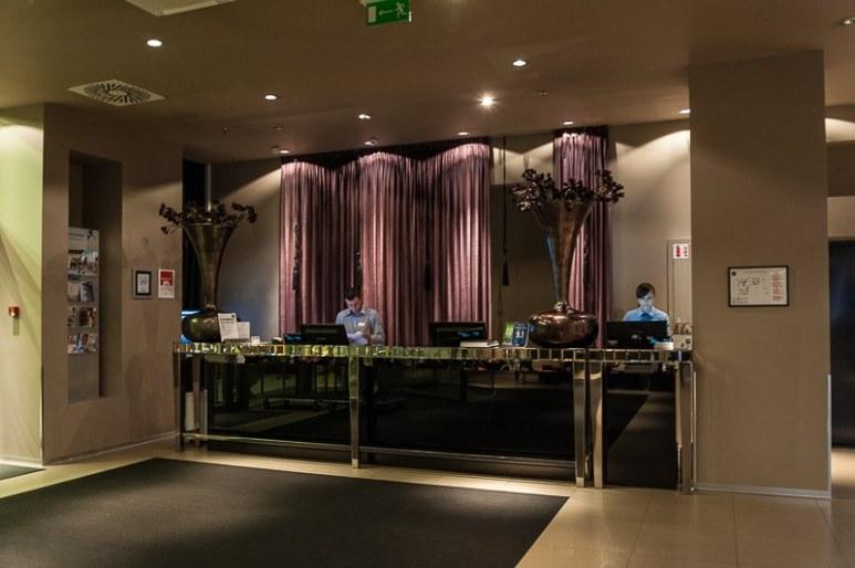 Rezeption Falkensteiner Hotel, Belgrad