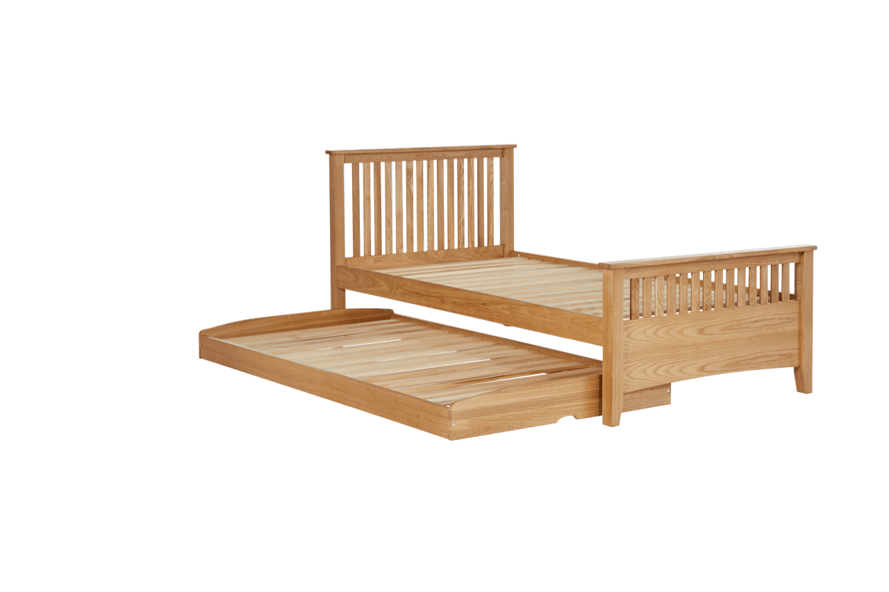 Snooze Single Beds Tilbury Bed Frame With Trundle Snooze