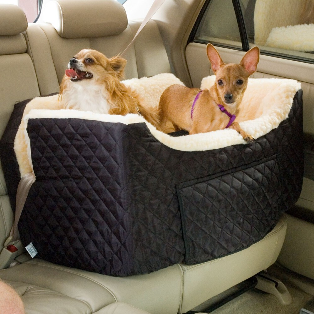 Double Dog Bed Snoozer Large Lookout Ii Dog Pet Car Seat Buddy