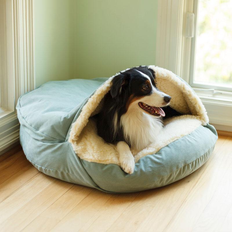 Snoozer Luxury Cozy Cave® Dog Bed 28 Colors/Fabrics 3 Sizes
