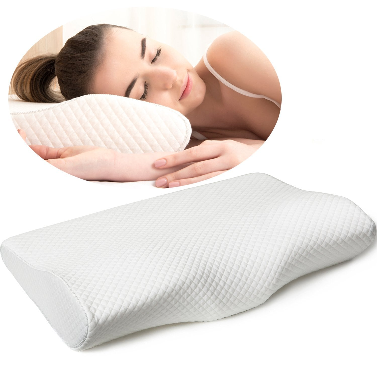 Firm Memory Foam Pillow Cervical Support Pillow Reviews The Best For 2019 Snoremagazine