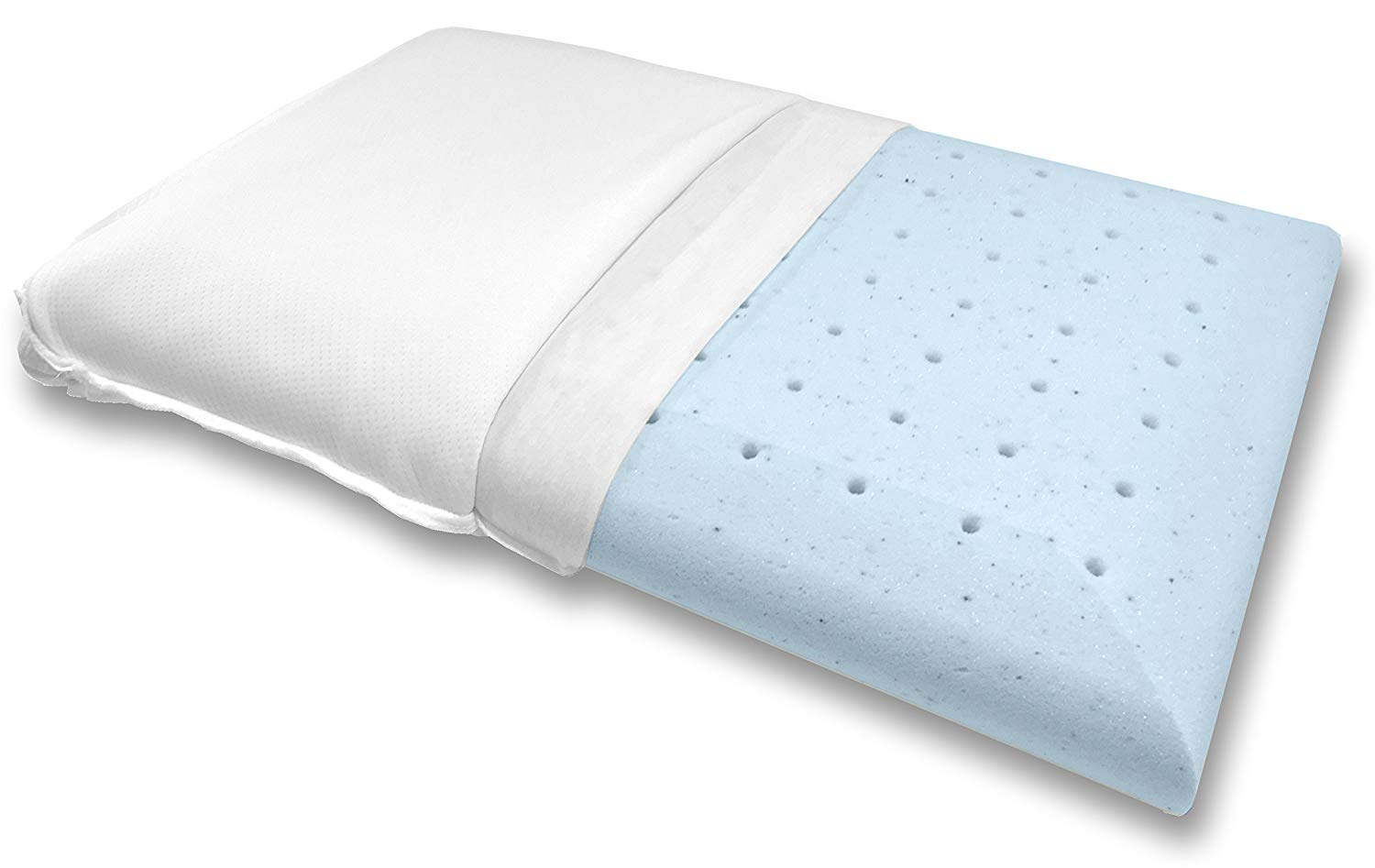 Gel Infused Memory Foam Pillow The Best Pillow For Stomach Sleepers In 2019 Snoremagazine