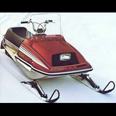 Old Sled Sighting Yamaha 340 ET Enticer \u2013 an original muscle sled