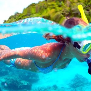 How to Snorkel When You Are Afraid of the Water