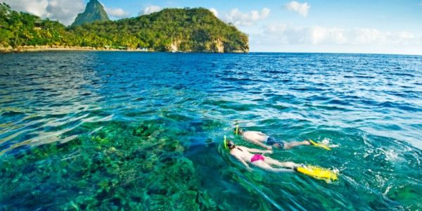 Top 5 Snorkel Spots to Explore While in St. Lucia