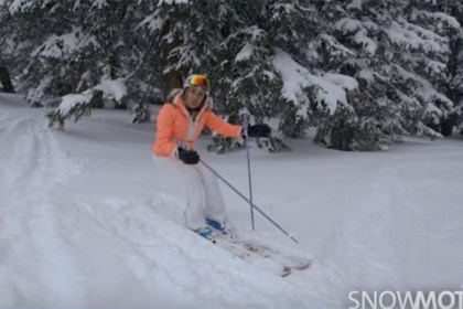 Snow Motion Ski Tip - Powder Stance