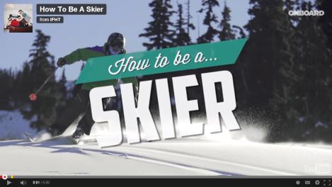 良きスキーヤーになるための28ヶ条