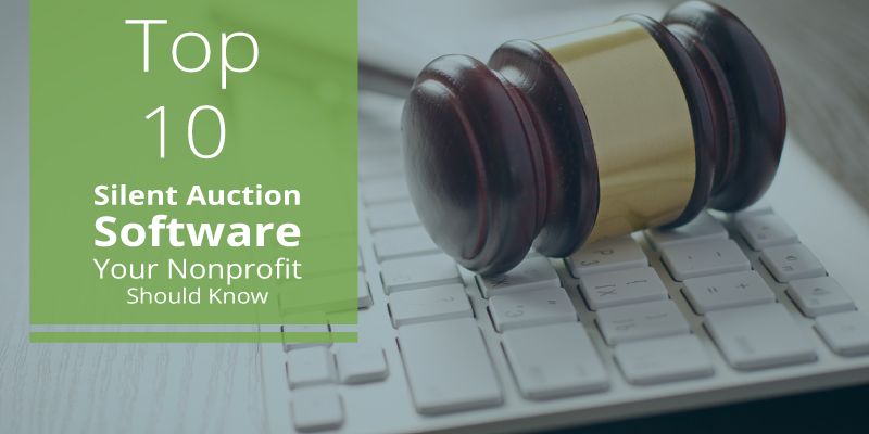 Top 10 Silent Auction Software Your Nonprofit Should Know - Snowball
