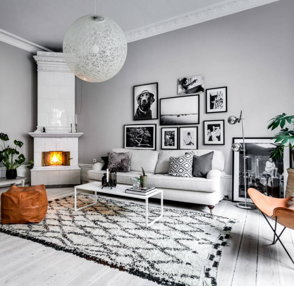 Swedish Living Room How To Create A Modern Scandinavian Gallery Wall Snow On The Oaks