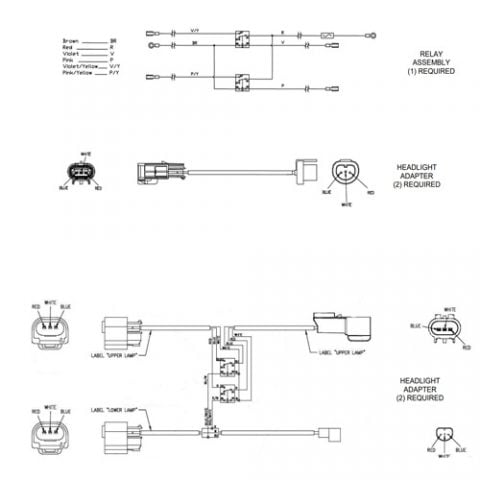 Boss Plow Headlight Adapter Kits Electronic Schematics collections