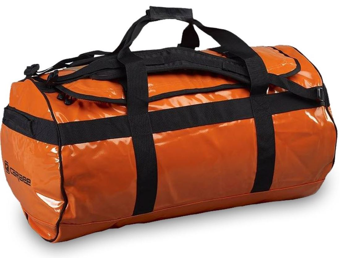 Luggage Organisers Australia Caribee Kokoda 90l Duffle Bag Orange Snowys Outdoors
