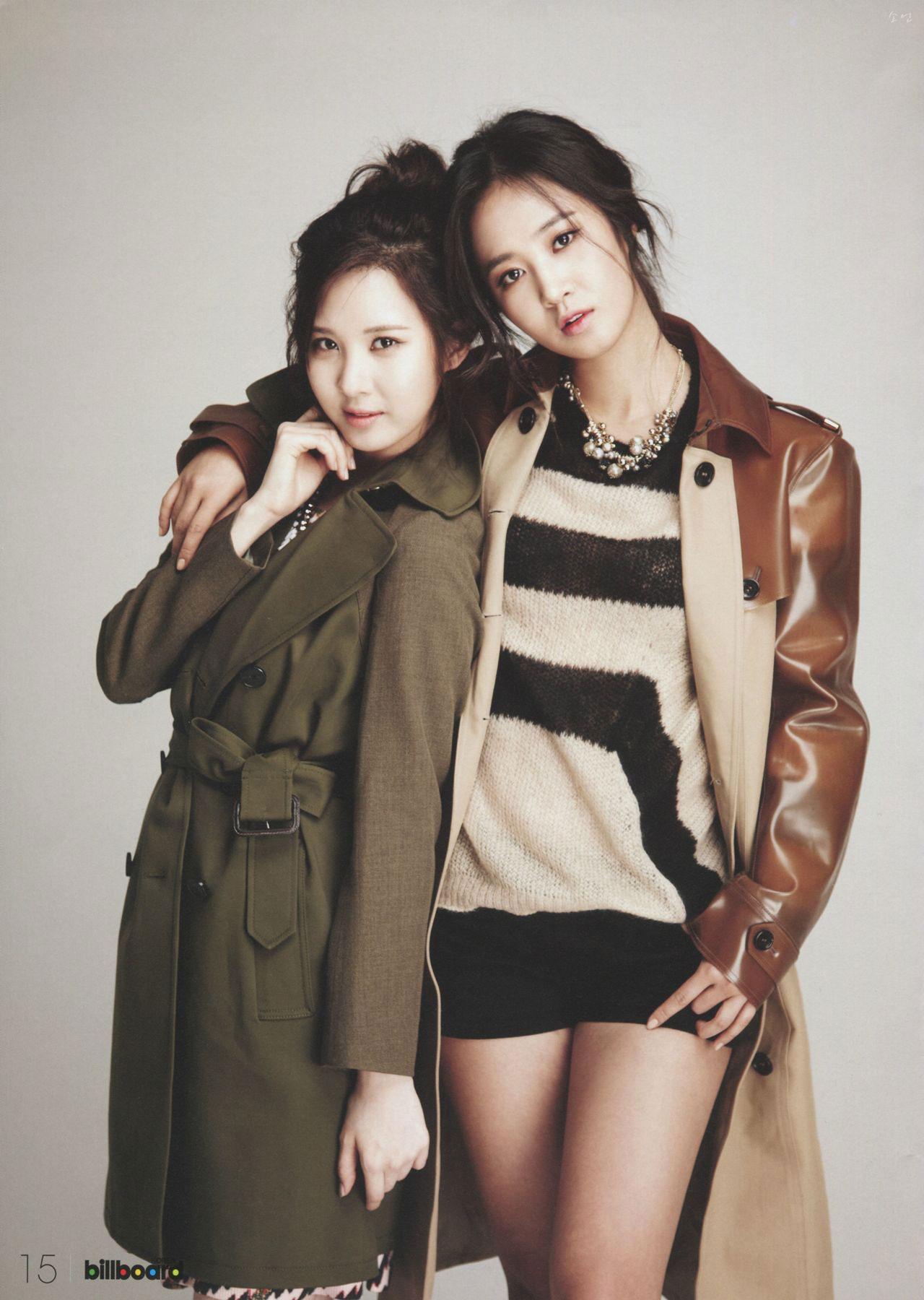 Girls Generation Tiffany Wallpaper Seohyun Amp Yuri Billboard Korea Kpop Magazine Snsd Pics