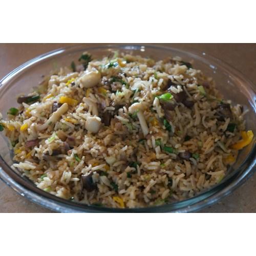 Medium Crop Of Mushroom Fried Rice