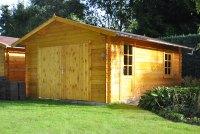 Gartenhaus Mit Garage. Holzgaragen Kaufen Garagen Aus Holz ...