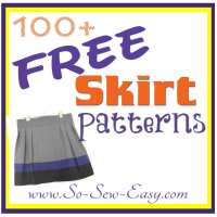 Free Skirt Sewing Patterns - over 100