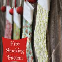 Christmas Stockings Tutorial - Seasonal Sewing Series