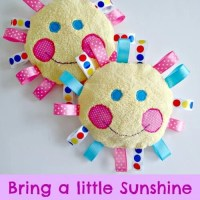 Sunshine for babies - handmade baby toys