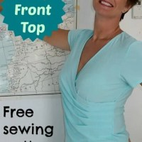 It's a Wrap top - free pattern
