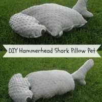 Make your own Hammerhead Shark Pillow Pet Pattern