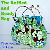 Free Bag Pattern - the Ruffled and Ready Bag