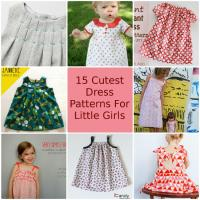 15 Cutest Free Dress Patterns for Little Girls