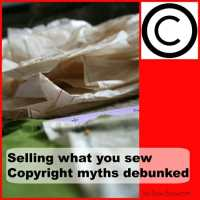Sewing pattern copyright law - myths debunked