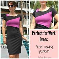 The Perfect for Work Dress pattern - free