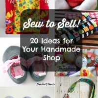 Sewing for profit. Projects that are great to make to sell