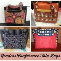 Results of the Conference Tote Sew-Along